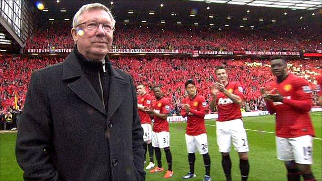 Alex ferguson nasceu para o futebol mundial no Manchester United e ali mesmo se aposentou após 26 anos
