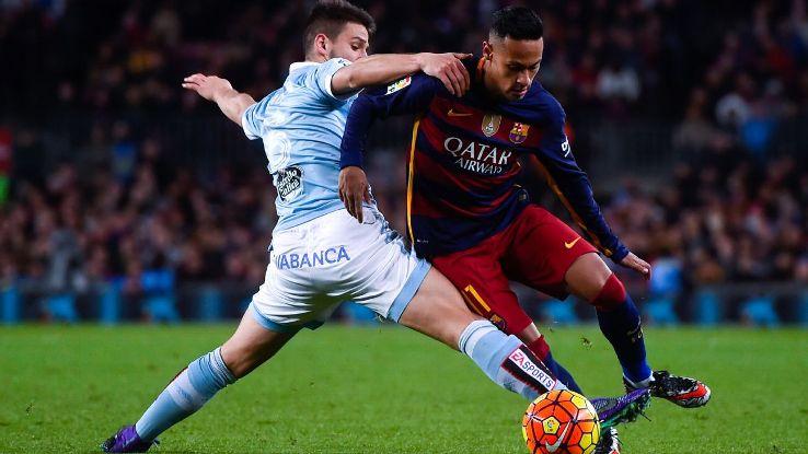 Neymar mostrou sua habilidade impressionante na vitória de domingo contra o Celta, mas nada do que fez pode ser considerado huilhação.