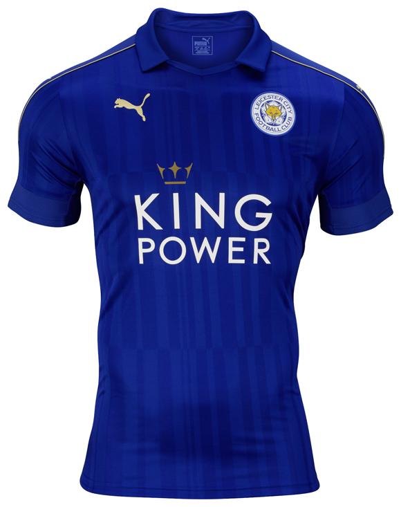 Essa será a camisa número 1 do Leicester