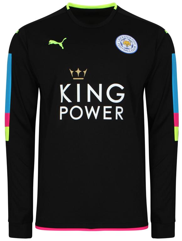 Essa será a camisa de goleiro do Leicester
