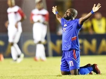 Millen comemora a ida do Haiti para a Copa América