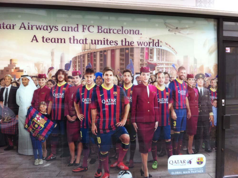 Qatar+Airways+FC+Barcelona+poster-lionel-messi-neymar-iniesta-piquet-puyol