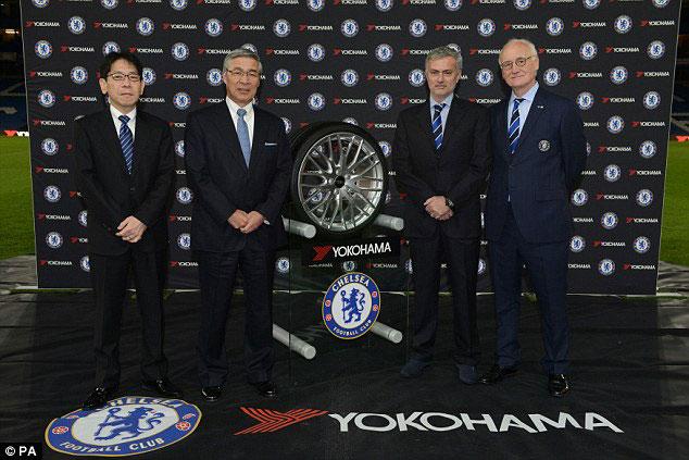 Yokohama-Rubber-chelsea-jose-mourinho