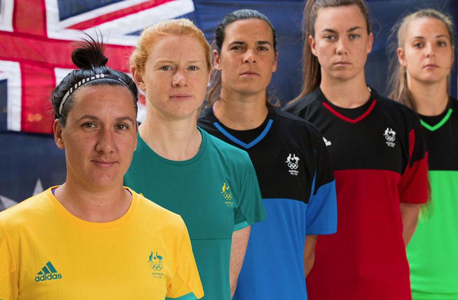 Camisas-da-Austrália-Olimpíadas-Rio-2016