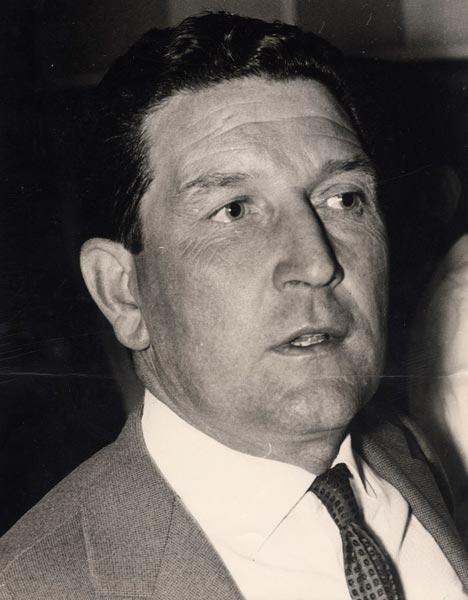 Albert Batteux, técnico da França em 1958