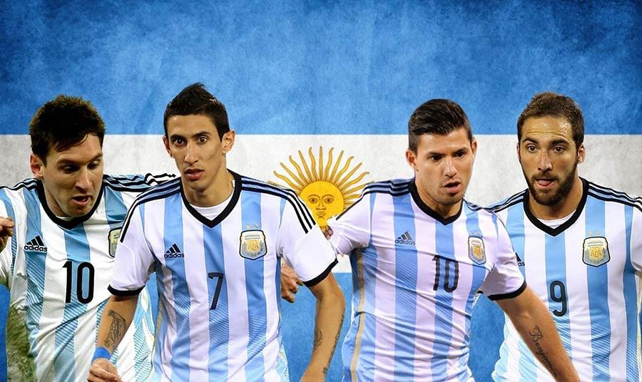 """O """"quadrado mágico"""" que Sabella criou e sempre tirava os argentinos das enrascadas."""