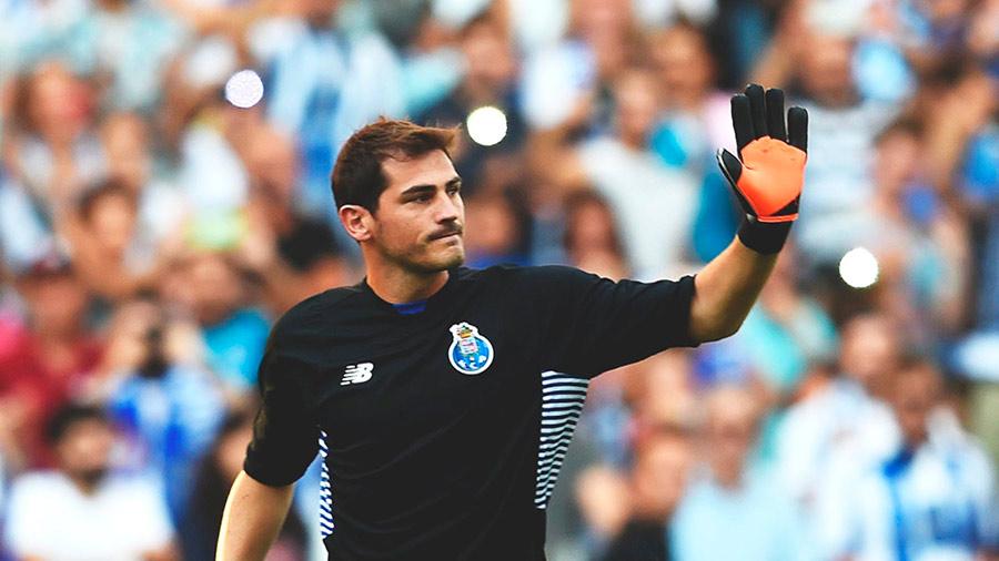 Casillas passa por uma fase ruim no Dragão.