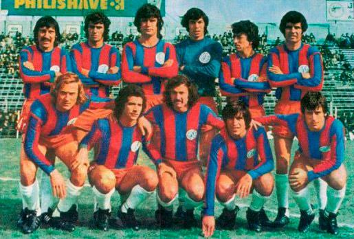Equipe base de 1974.