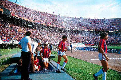 Histórico jogo em que os 'Cuervos' tomaram o Monumental de Nuñez.