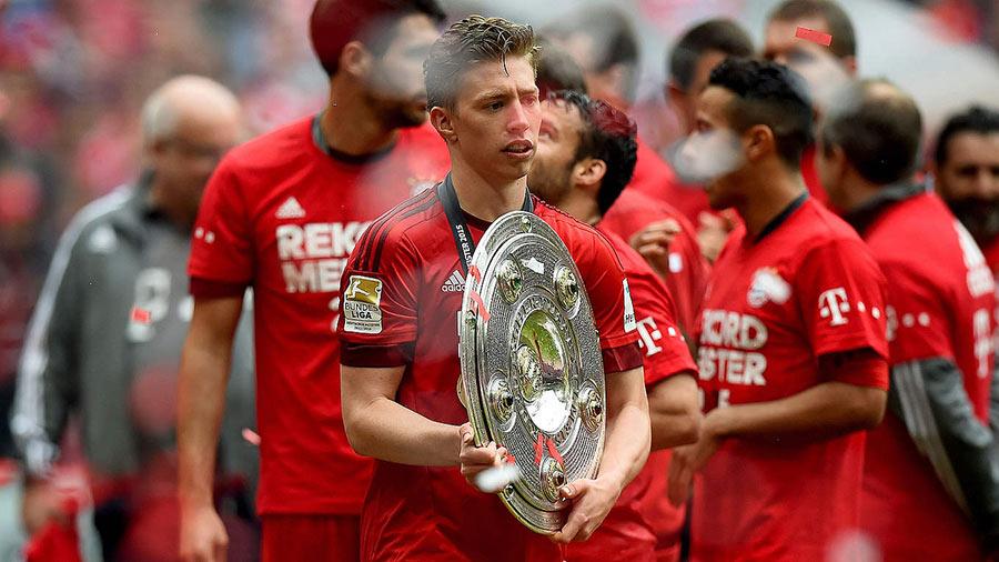 Weiser foi tricampeão alemão com o Bayern