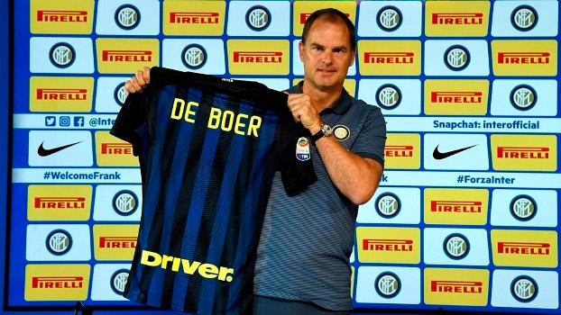 De Boer durou 85 dias na Inter de Suning