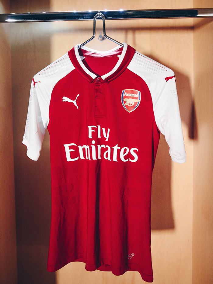 Nova Camisa do Arsenal Temporada 2016-2017