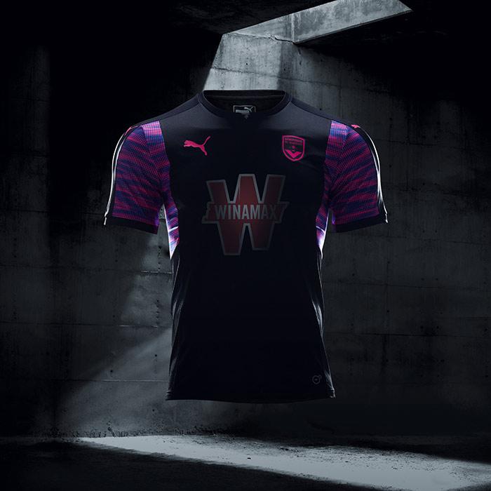 Camisa Puma Bordeaux