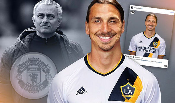 Ibrahimovic no Los Angeles Galaxy