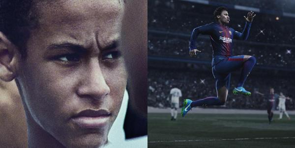 Neymar Criança e Neymar no Barcelona