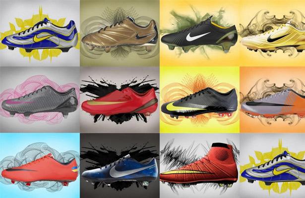 A evolução da Nike Mercurial