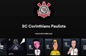 Playlist de jogadores do corinthians no Spotify