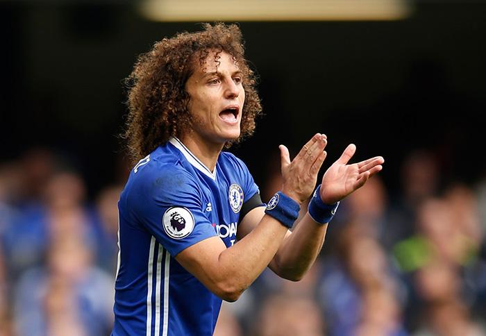 Seleção do campeonato inglês - David Luis do Chelsea