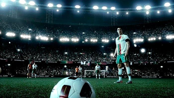 """Comerciais de Futebol - Comercial Nike """"Escreva seu Futuro"""""""