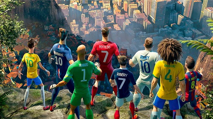 """Comerciais de Futebol - Comercial Nike """"O Ultimo jogo"""""""