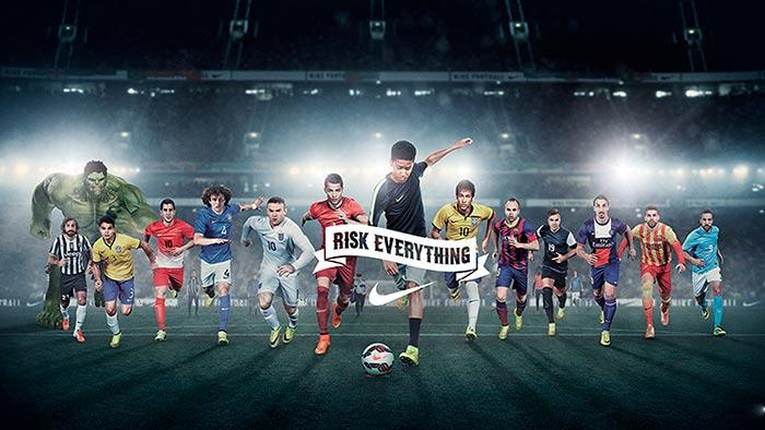 """Comerciais de Futebol - Comercial Nike """"Quem ganha fica"""""""