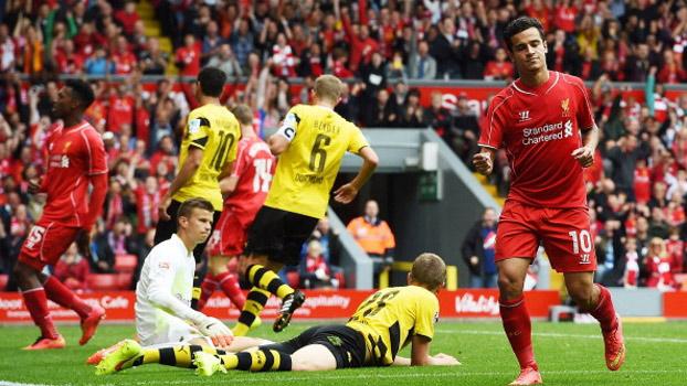 A vitória do Liverpool contra o Borussia Drtmundo foi umas das viradas do futebol mais emocionante