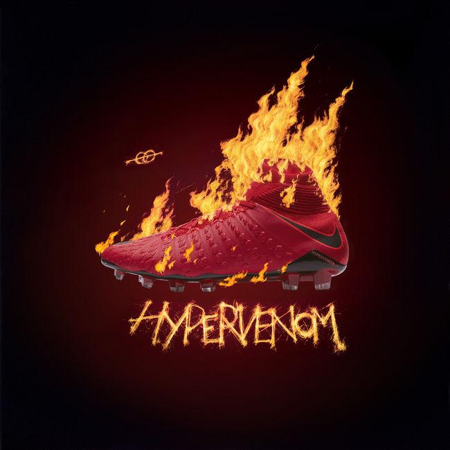 Nova chuteira Nike Sangue Quente Hypervenom