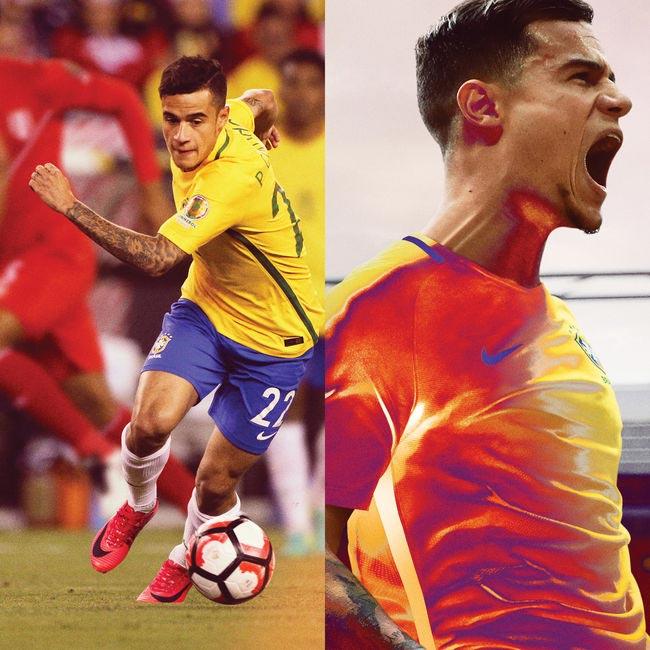 Nova chuteira Nike Sangue Frio Sangue Quente Phillipe Coutinho