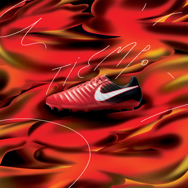 Nova chuteira Nike Sangue Quente
