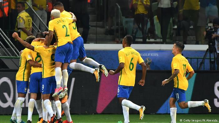 Brasil classificado para a copa do mundo