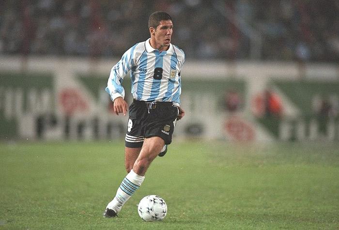 Jogadores mais violentos - Diego Simeone
