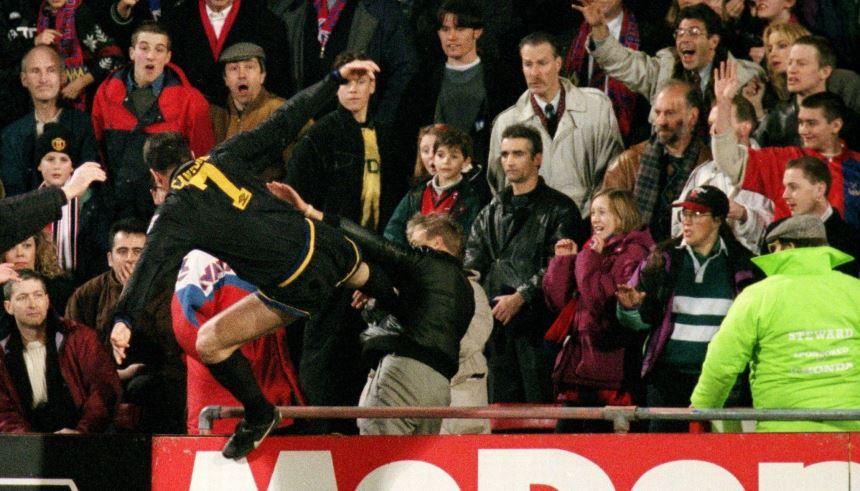 Jogadores mais violentos - Eric Cantona
