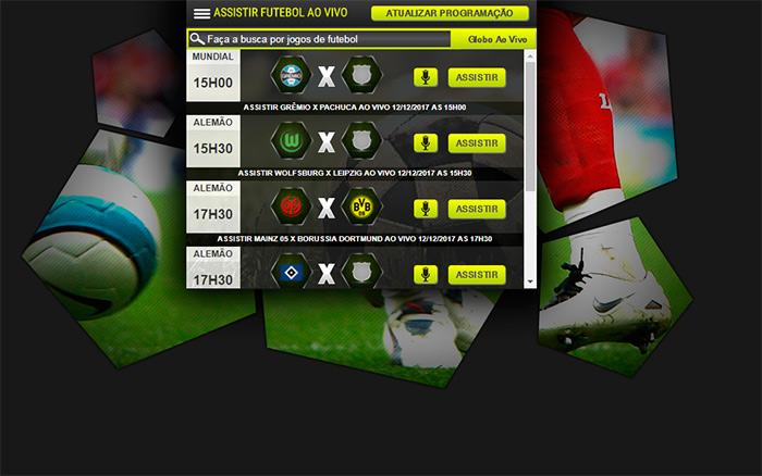 G1 Futebol ao vivo - Assistir futebol online