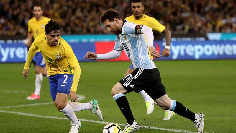 Brasil x Argentina Messi x Neymar