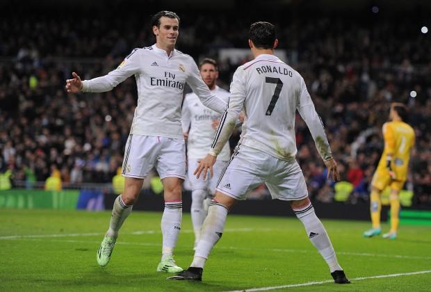 Cristiano Ronaldo e Gareth Bale Real Madrid