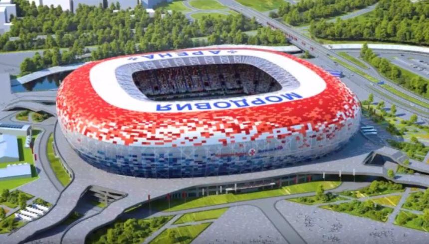 Mordovia Arena - Copa do Mundo 2018