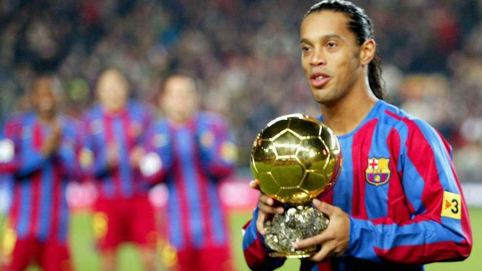Ronaldinho Gaúcho Bola de Ouro