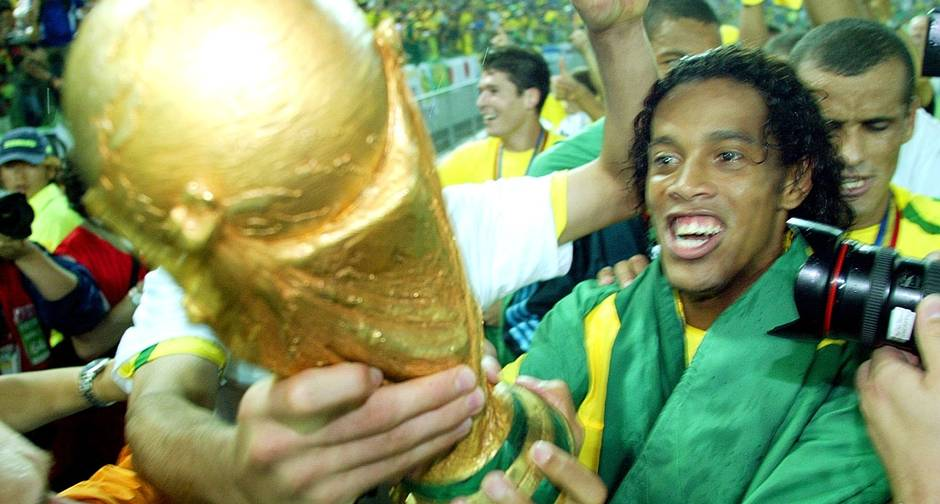 Ronaldinho Gaucho campeão da Copa do Mundo