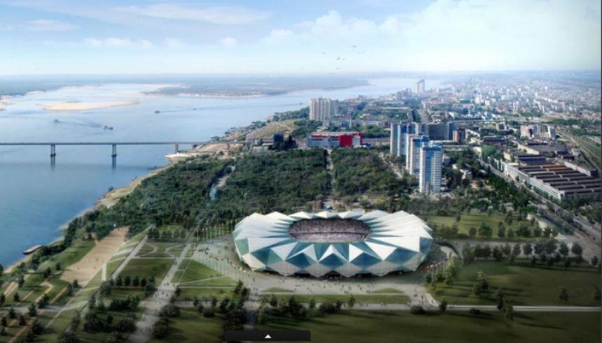 Volgograd Arena - Copa do Mundo 2018