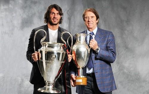 Cesare Maldini e Paolo maldini