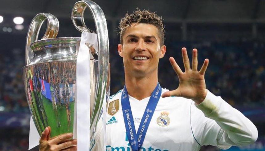 Cristiano Ronaldo Fartura mais uma Champions League pelo Real Madrid
