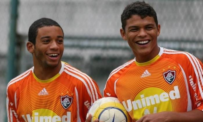 Marcelo e Thigao Silva Fluminense