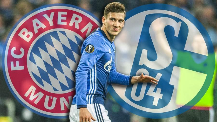 Leon Goretzka assina pelo Bayern de Munique