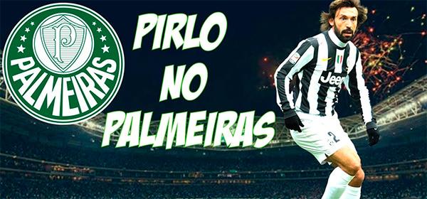 Pirlo no Palmeiras
