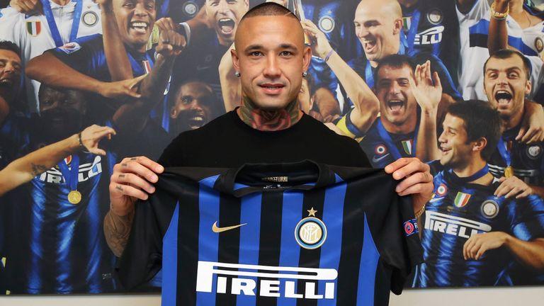 Radja Nainggolan assina pela Inter de Milão
